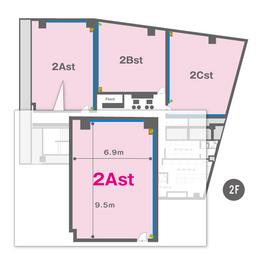 2Ast(2F)レイアウト図