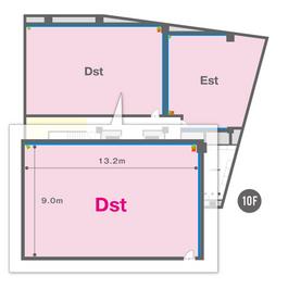 Dst(10F)レイアウト図