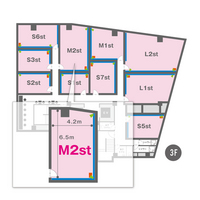 M2st(3F)レイアウト図