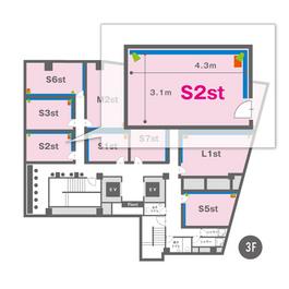 S2st(3F)レイアウト図