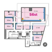 S6st(3F)レイアウト図