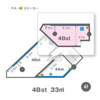 4Bst(4F)レイアウト図