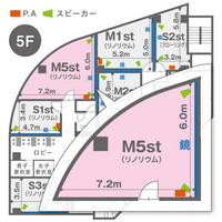 M5st(5F)レイアウト図