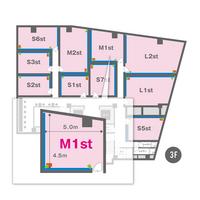 M1st(3F)レイアウト図